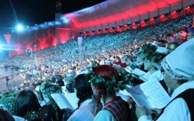 Festival ljudskih pesmi v Latviji