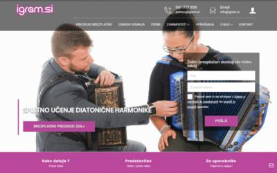 Spletno učenje diatonične harmonike
