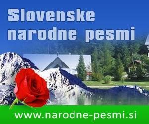 Oglas Slovenske narodne pesmi