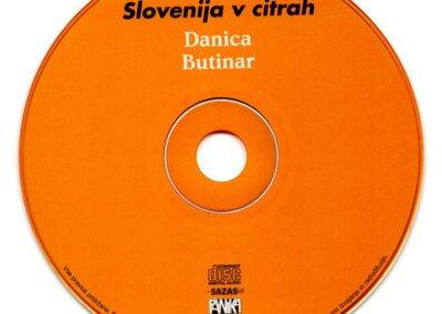 Slovenija v citrah, CD